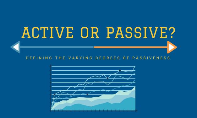 Active Or Passive Investor?