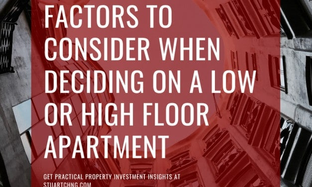 12 Factors to Consider When Deciding On A Low Or High Floor Apartment