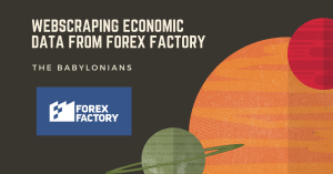 Web Scraping Economic Data from Forex Factory