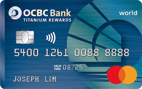 WhatCard of the Week (WCOTW) 16 Mar: OCBC Titanium Rewards Card