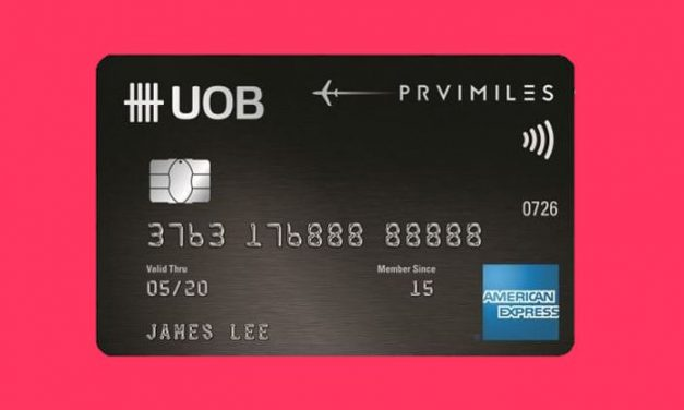 Limited Time Promo: Get $100 cash credit when you apply for UOB PRIV Amex, existing UOB cardholders also eligible