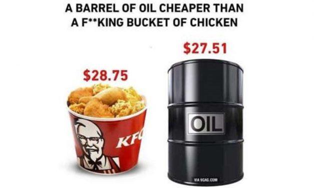 Oil Price Drop = Stock Market Drop?