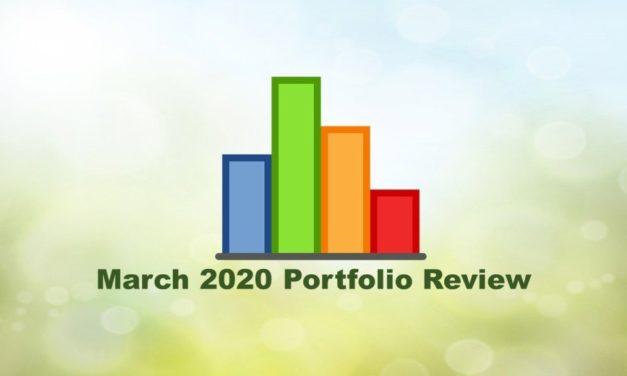 Portfolio @ March 2020