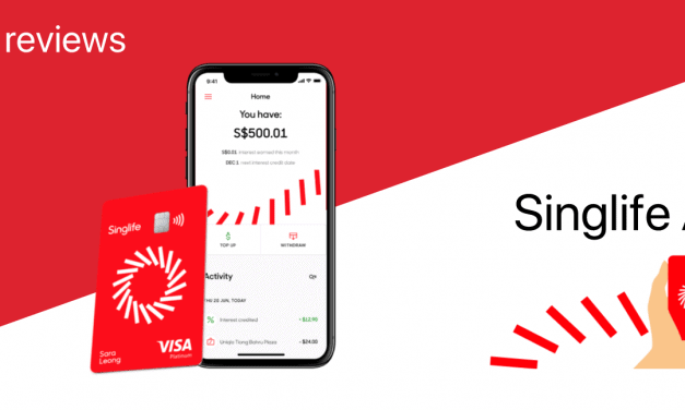Review: Singlife Account – 2.5% pa on Your Savings, No Hoops?! Plus Free Insurance!