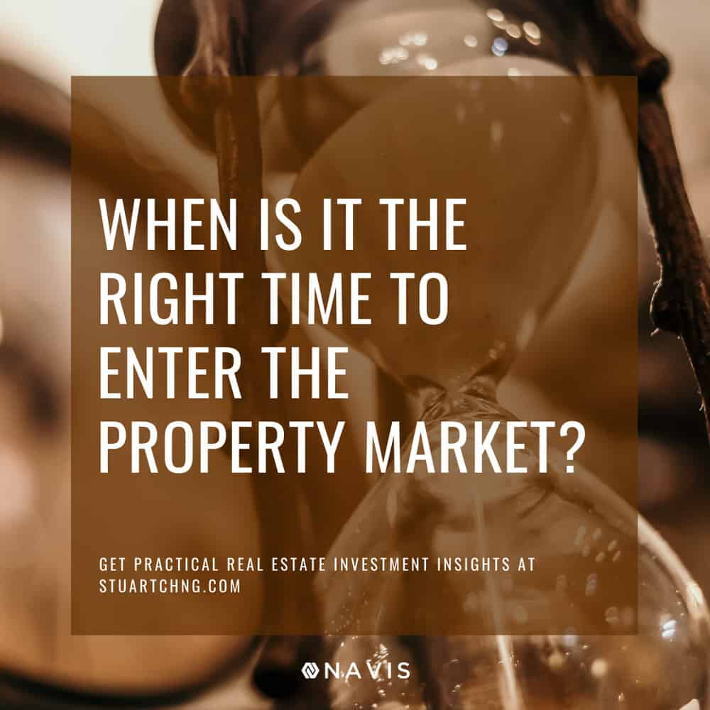When Is It The Right Time For Me To Enter The Property Market?