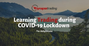 Learning Trading During COVID-19 Lockdown