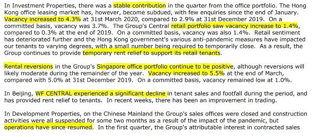 Added: HongKong Land USD (May 2020)