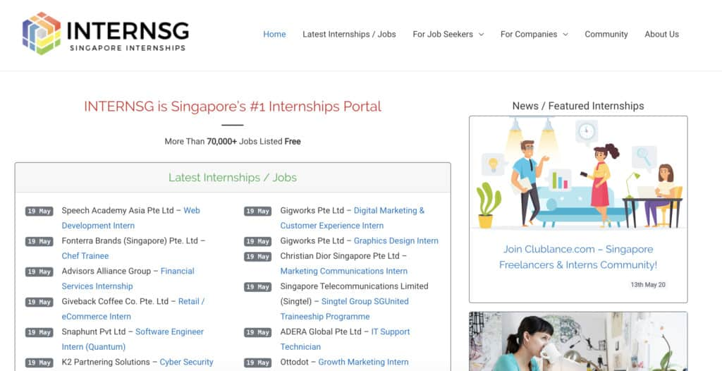 best job search websites in singapore