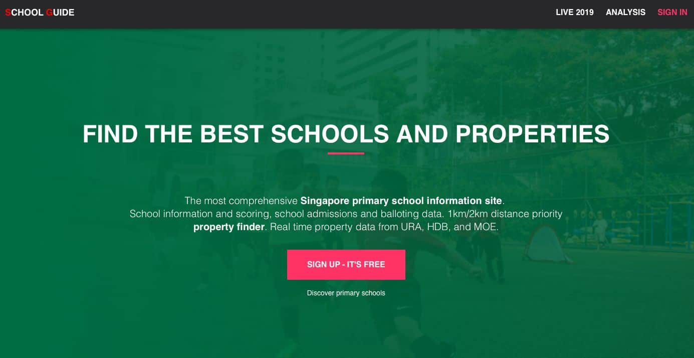 Getting Your Child Into A Top Primary School And Finding Your Dream Home: Here's How This Tool Can Help