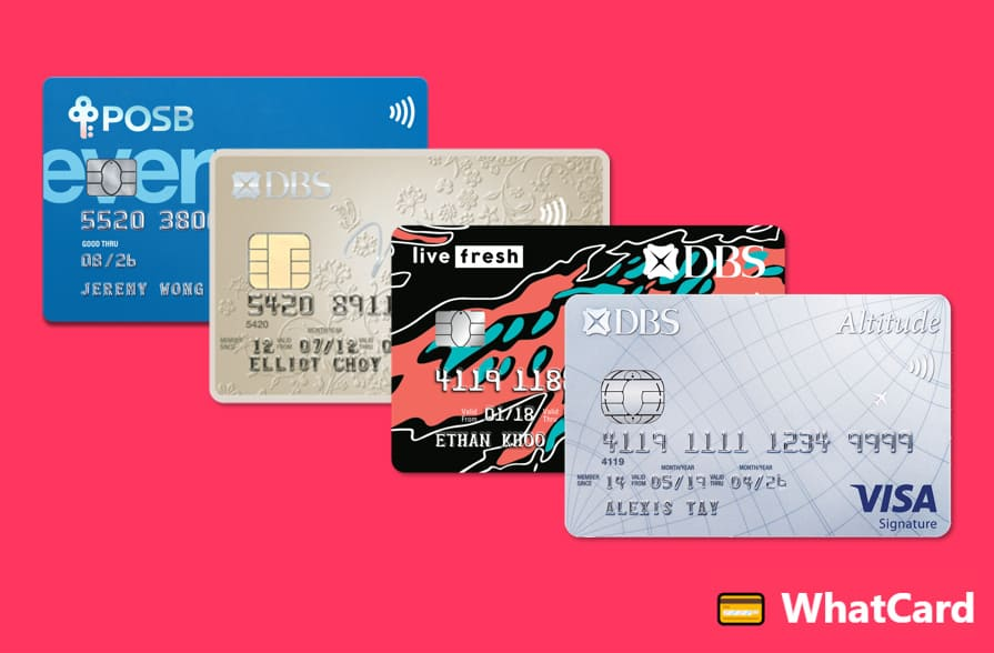 Till 19 June: $200 cashback for all new-to-bank DBS card applicants, no minimum spend required!