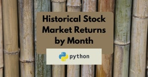 Historical Stock Market Returns by Month