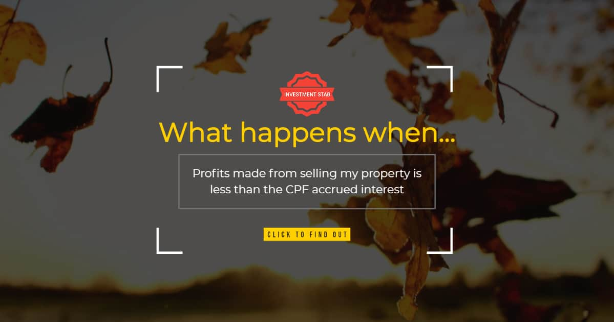 Must I Top Up Cash To Pay Back My CPF Accrued Interest If I Sell My House?