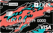 WhatCard of the Week (WCOTW) 5 Jun: DBS Live Fresh Card