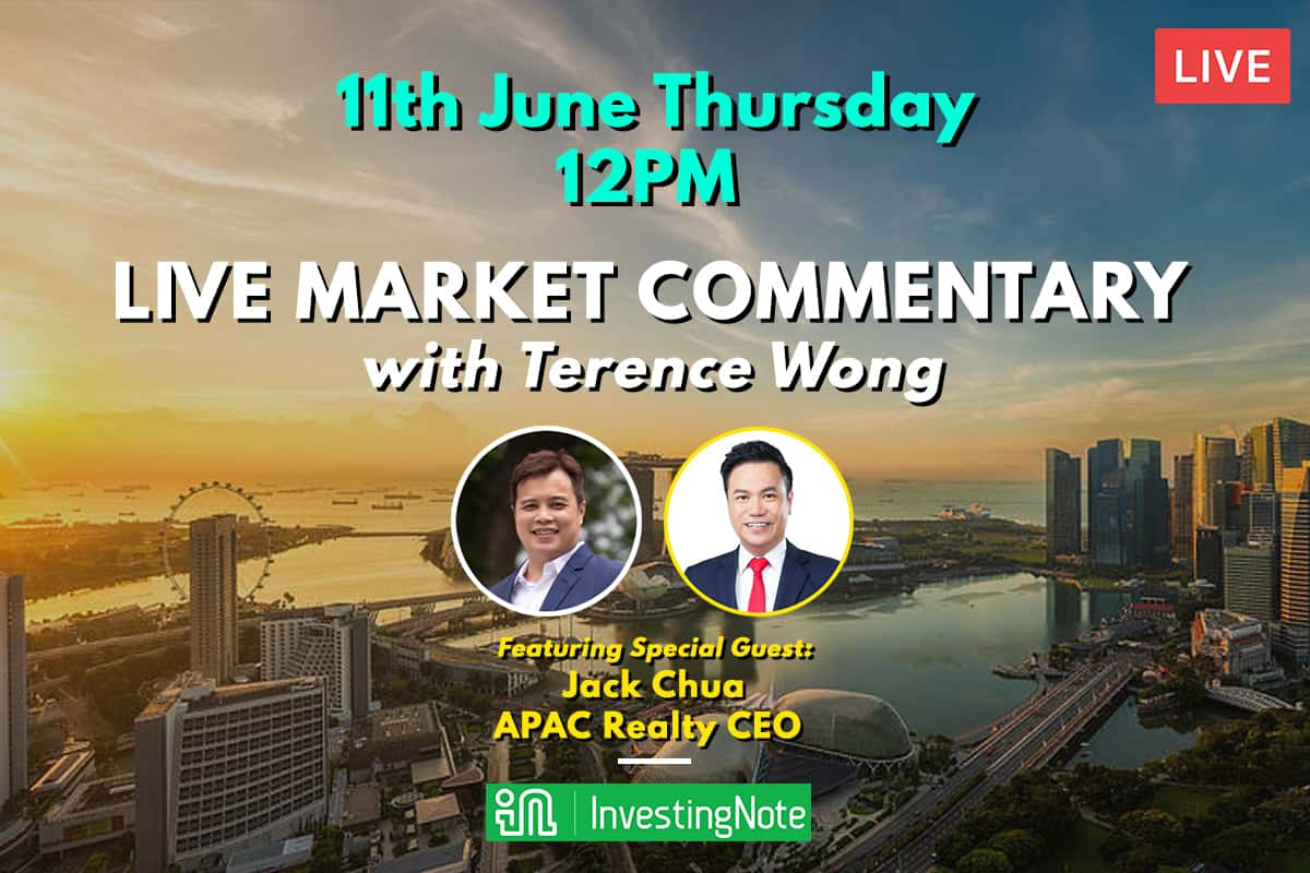Thursday 11 June 12PM: LIVE Market Commentary with Terence Wong