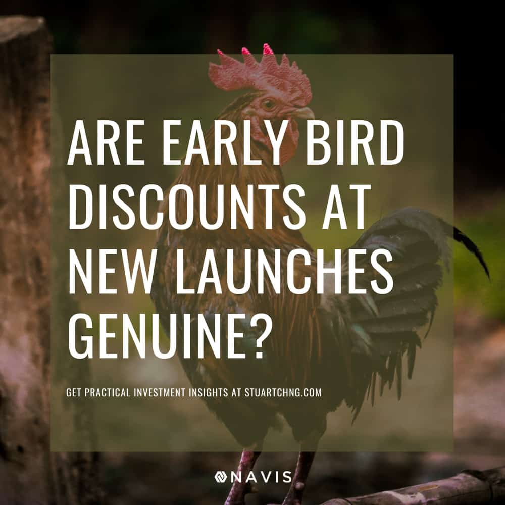 Are Early Bird Discounts At New Launches Genuine?