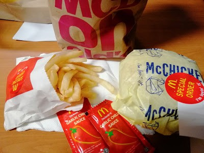 My frugal $2 hellthy meal from Mcdonalds