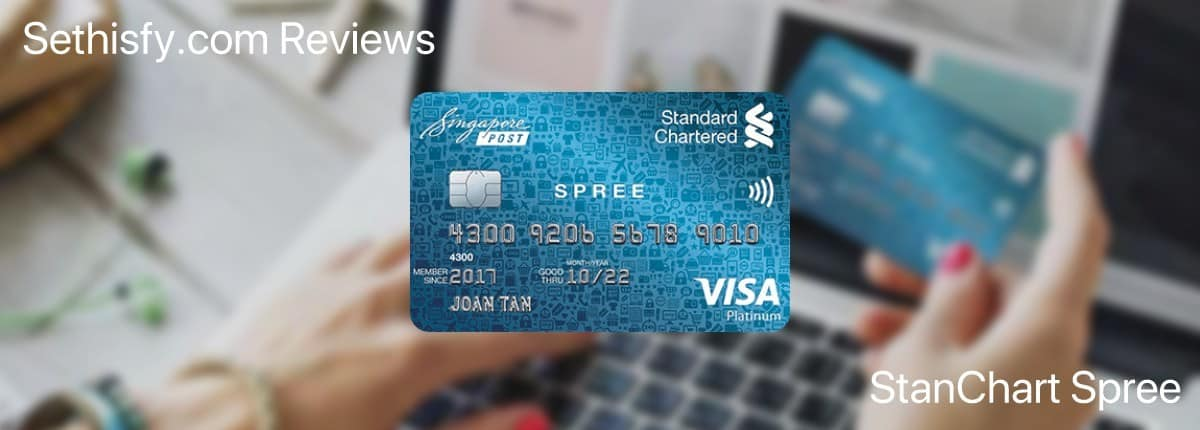 Review: StanChart Spree – 2.0% + 0.8% Cashback Virtually Without Conditions; Great Primary Card for Lazy People and Secondary Card for Optimisers