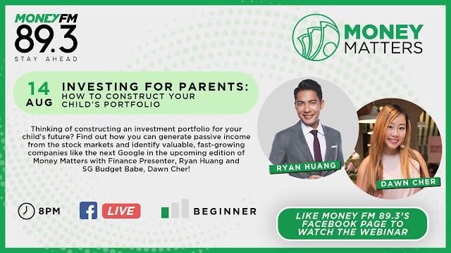 How to Construct Your Child's Investment Portfolio – on Money 89.3FM