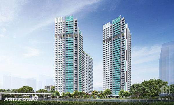 Site Survey of Bishan Towers – Aug 2020 HDB BTO
