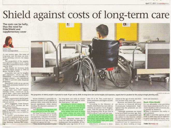 CareShield Life (NEW Oct 2020) How much it cost for nursing a disabled will shock you!