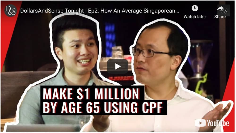 A million dollars in CPF by 55 – Is it possible for the average Joe?