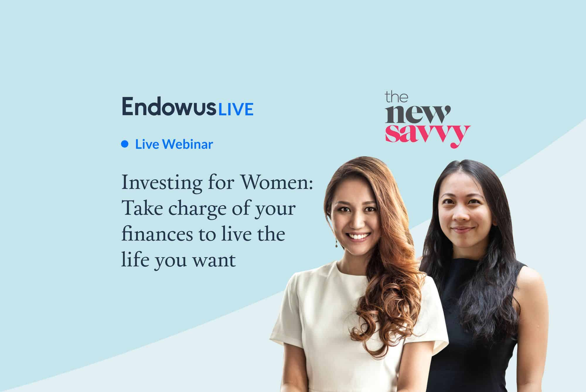 Webinar: Investing for women: Take charge of your finances to live the life you want