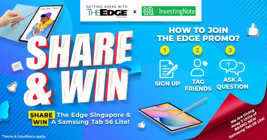 Want to win a Samsung Tab S6 Lite?