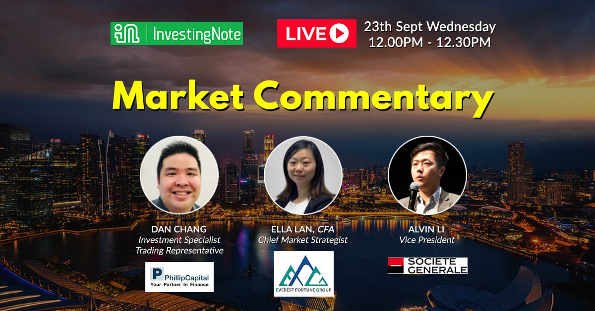 Join us for this weekly LIVE Market Commentary!