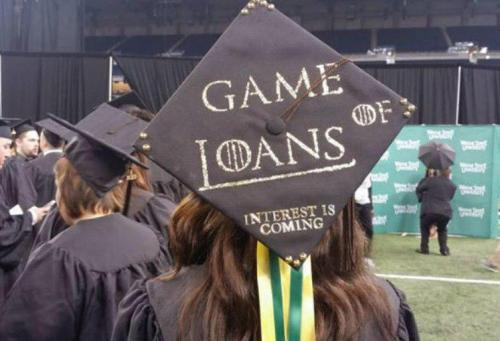 How to be free from the burden of university debt?