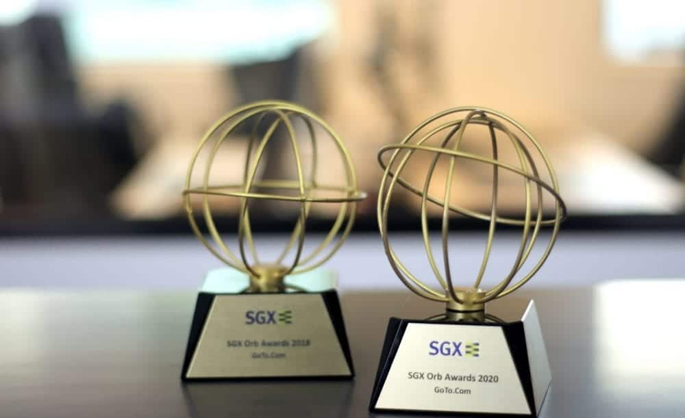 The Fifth Person wins its second SGX Orb Award for best independent investment website