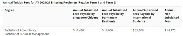 Which Business/Finance Degree in Singapore Is The Most Cost-efficient?