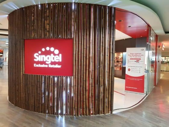 [Paywall] Singtel share price in state of emergency