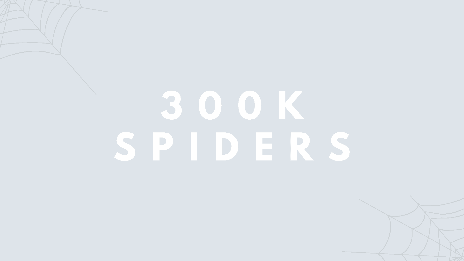 300K Spiders | 380 Telegram Subs | Free Food Giveaway!