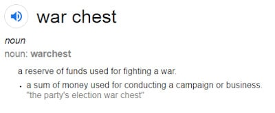 Importance Of A War Chest
