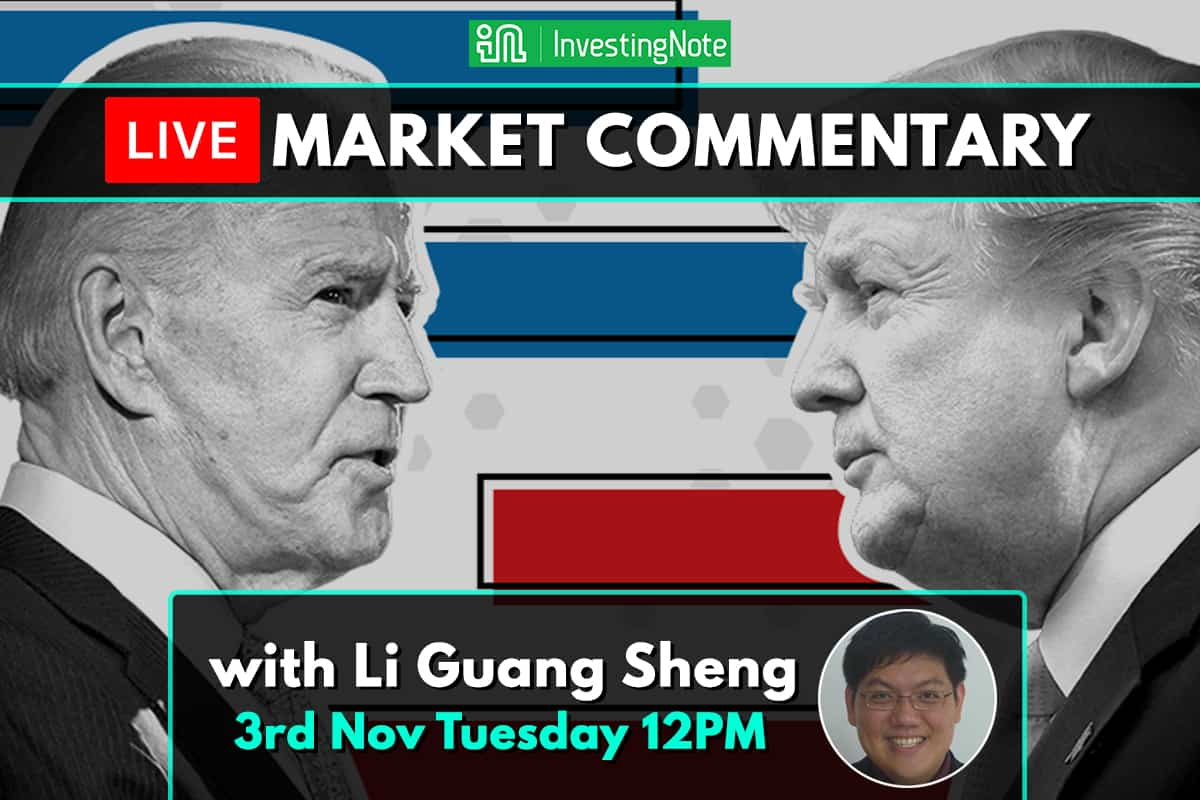 LIVE Market Commentary: The US Election