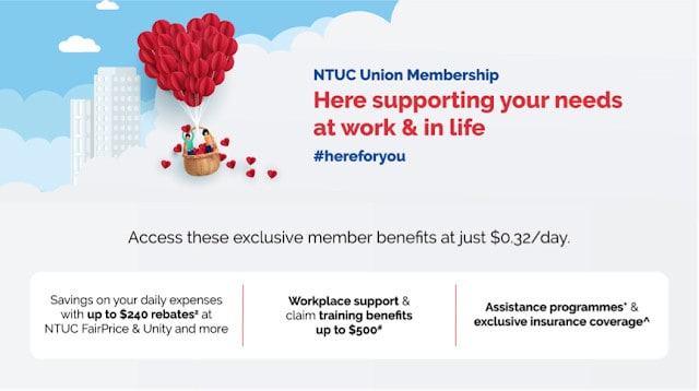 Is the NTUC Union Membership frankly worth it?
