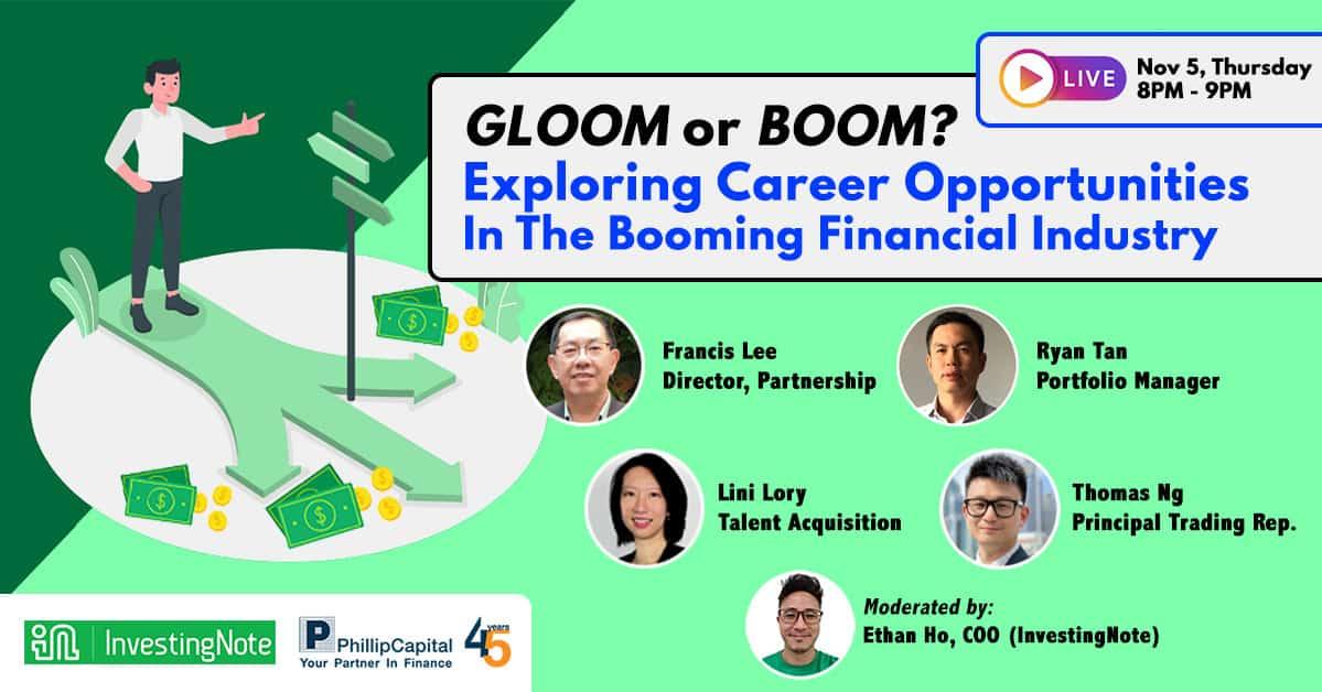 GLOOM or BOOM? Explore Career Opportunities In The Booming Financial Industry [Webinar]