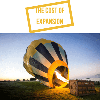 How Companies Expand Earnings and The Cost of Expansion