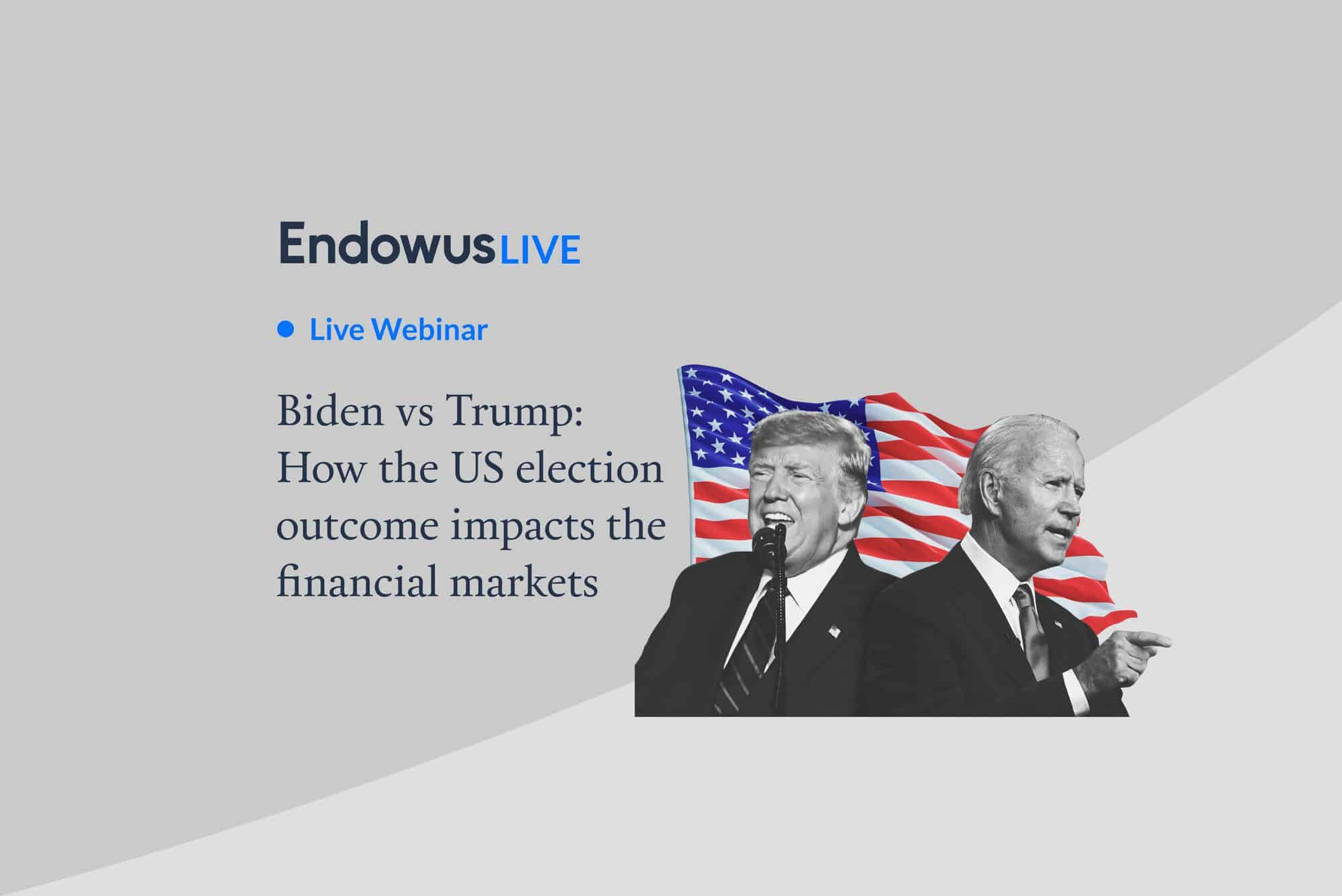 Biden vs Trump: How US election impacts the financial markets