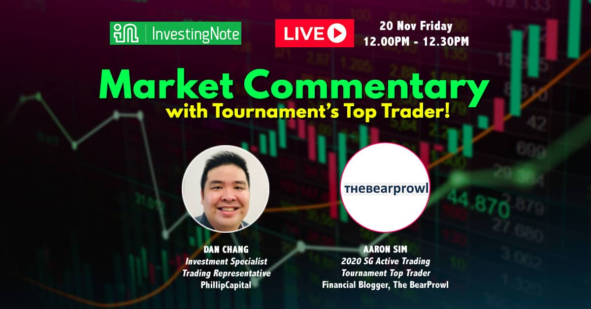 Upcoming: LIVE Market Commentary
