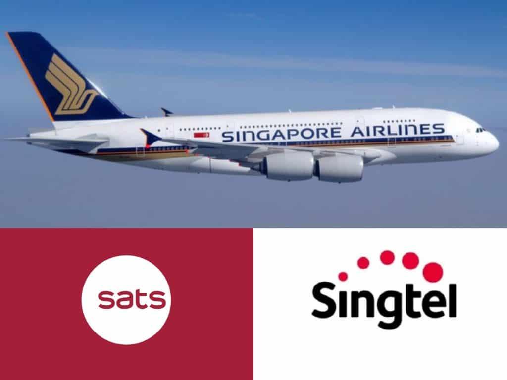 SATS (S58), SIA (C6L), and Singtel (Z74) Stock Review