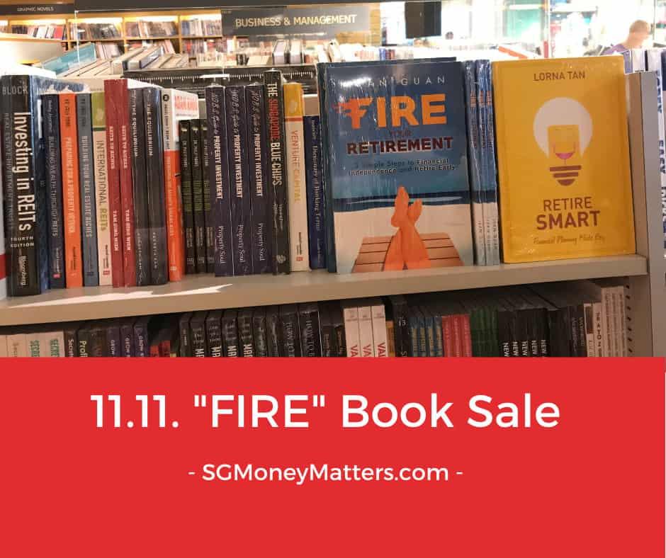 """FIRE Your Retirement"" 11.11 Flash Book Sale"