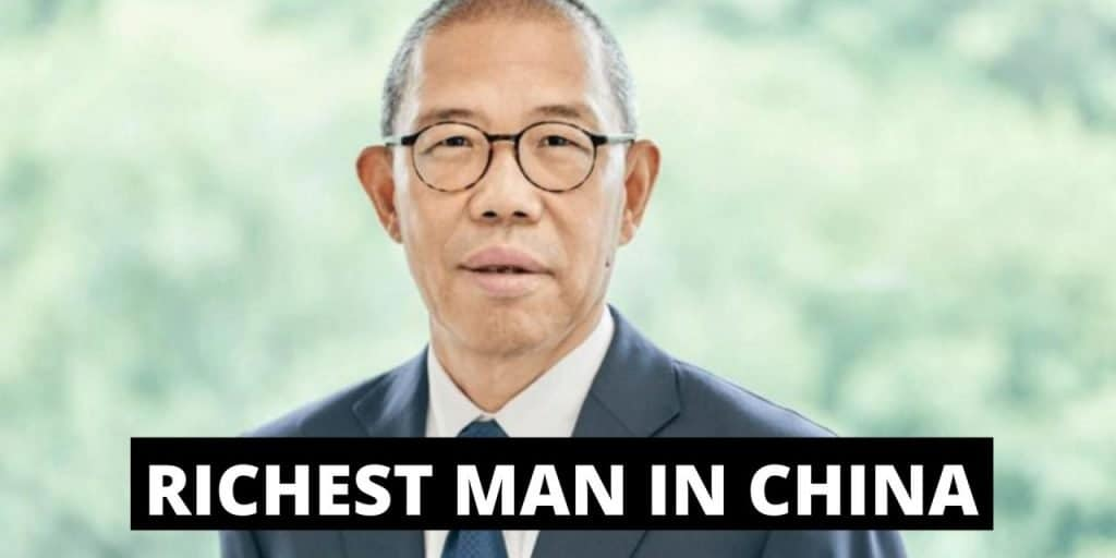 THE STORY OF THE NEW WEALTHIEST MAN IN CHINA