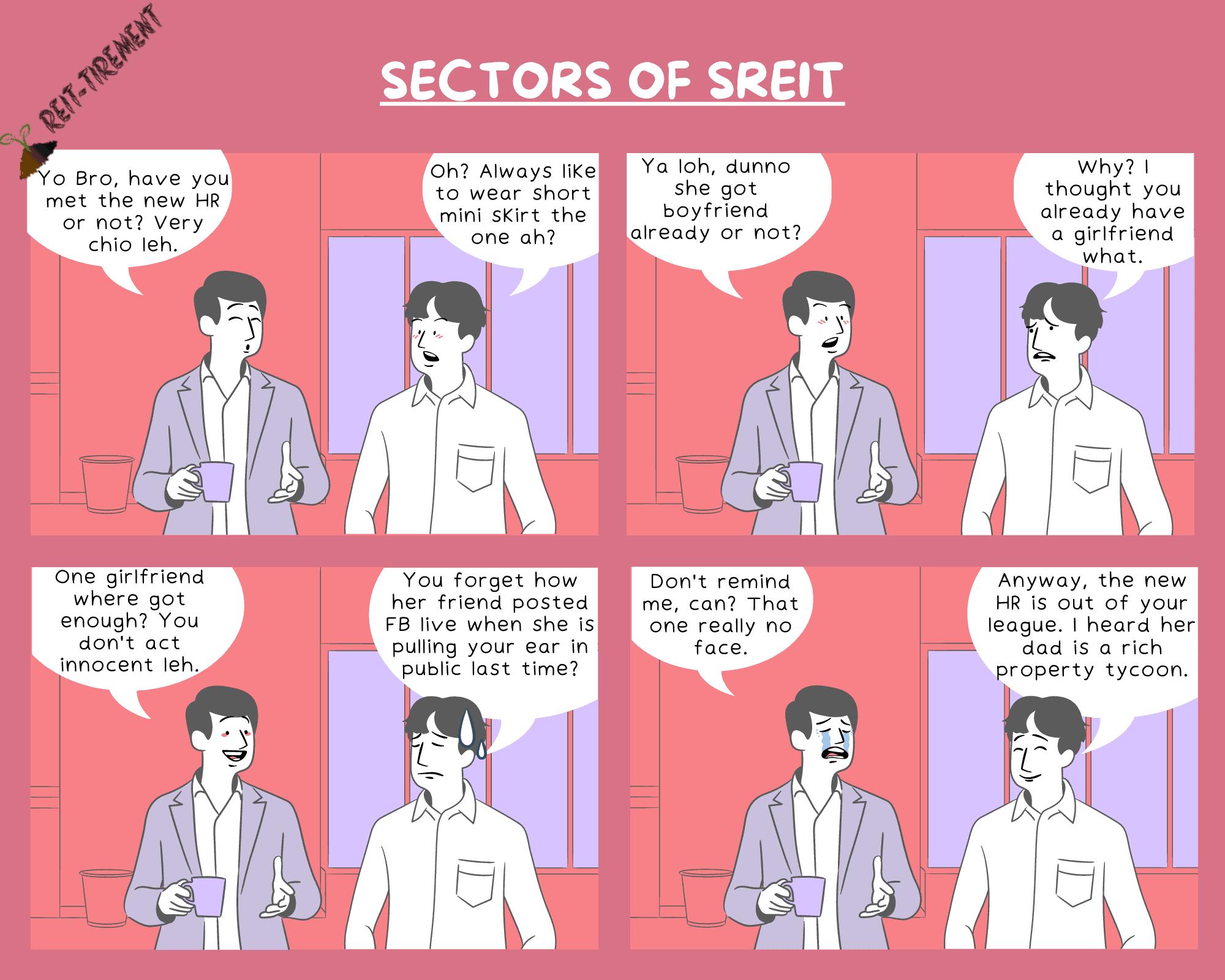 Comic Strip – Sectors of SREIT
