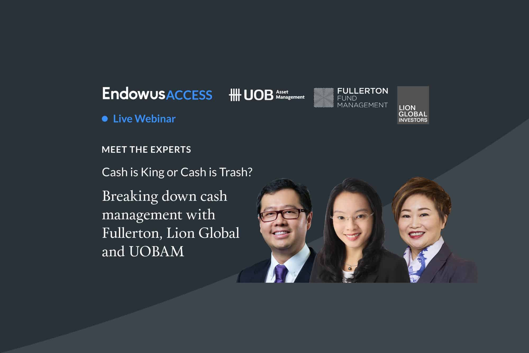 Webinar: Cash is King or Cash is Trash? Breaking down Cash Management Solutions