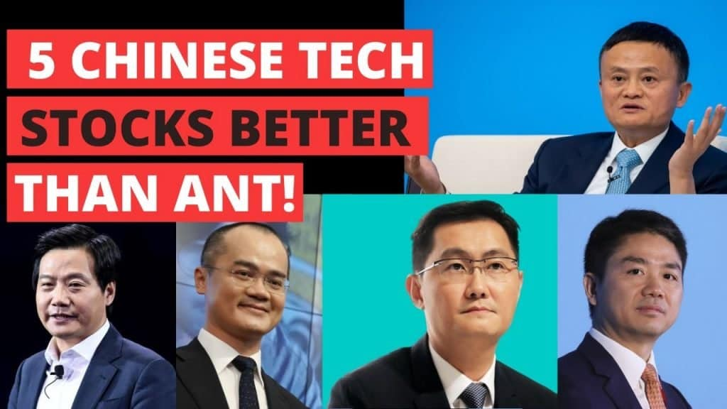 5 Chinese Tech Stocks To Consider Instead of Ant Group