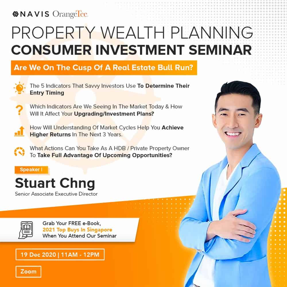 Property Wealth Planning Consumer Investment Seminar by Stuart Chng