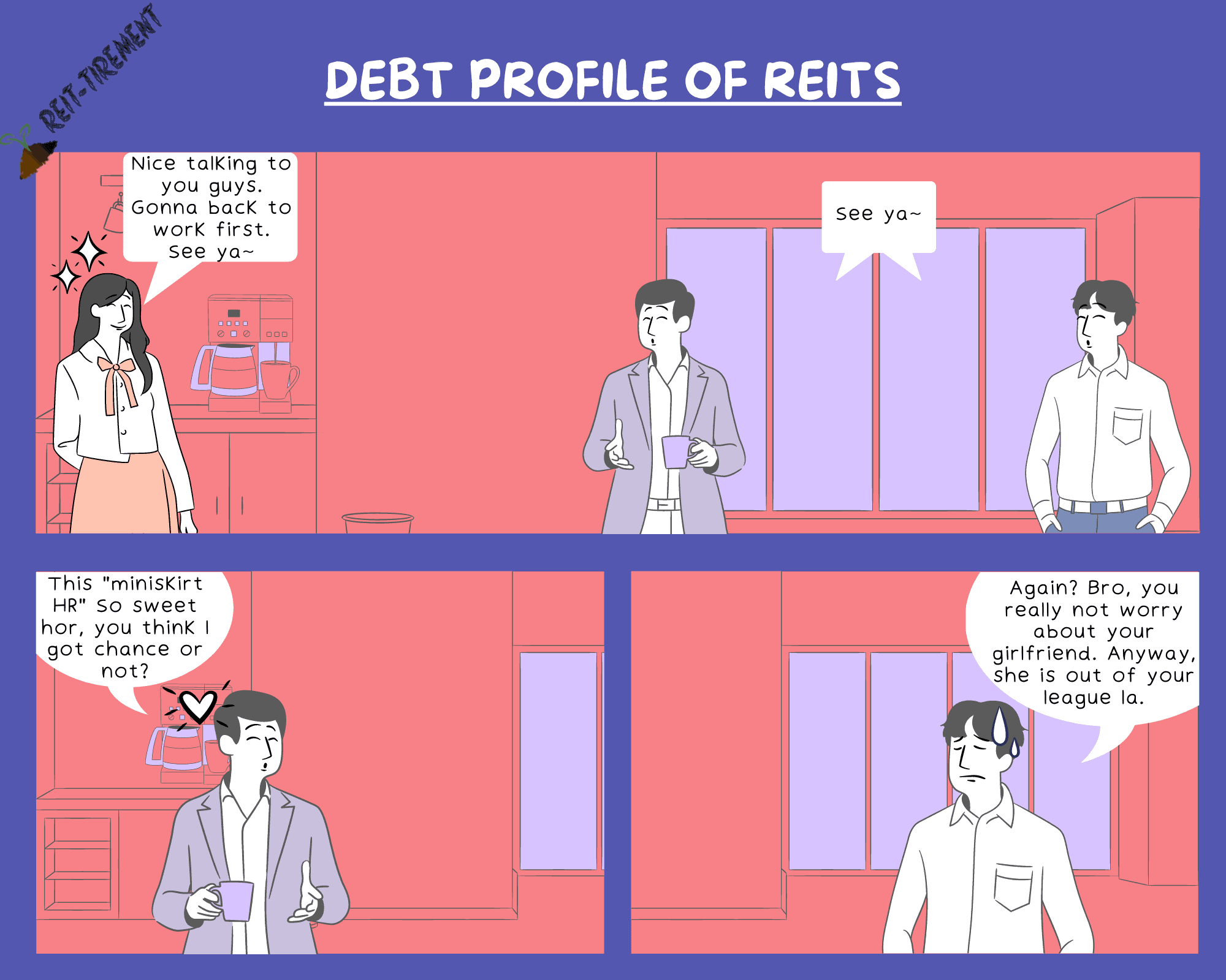 Comic Strip – Debt Profile of REITs