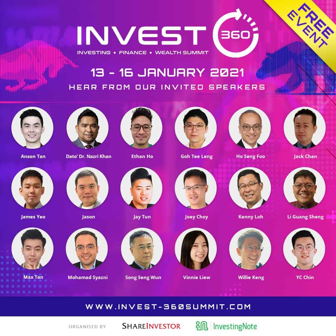 Upcoming Regional Market Outlook: Invest360 | 13-16 Jan!
