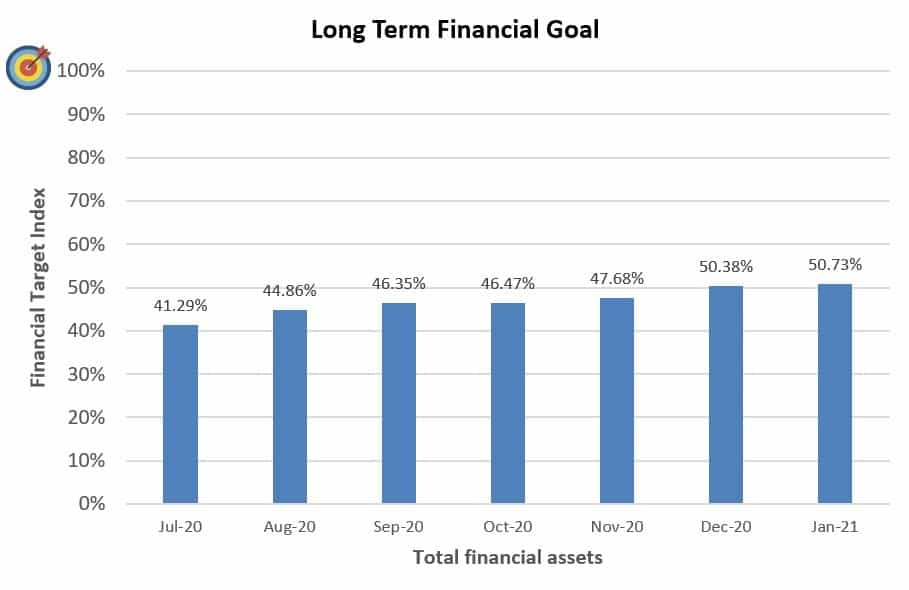 Financial Goals January 2021